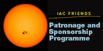 Announcement of the IAC Friends. Patronage and Sponsorship Programme