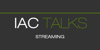 Imagen del logo de IAC Talks streaming