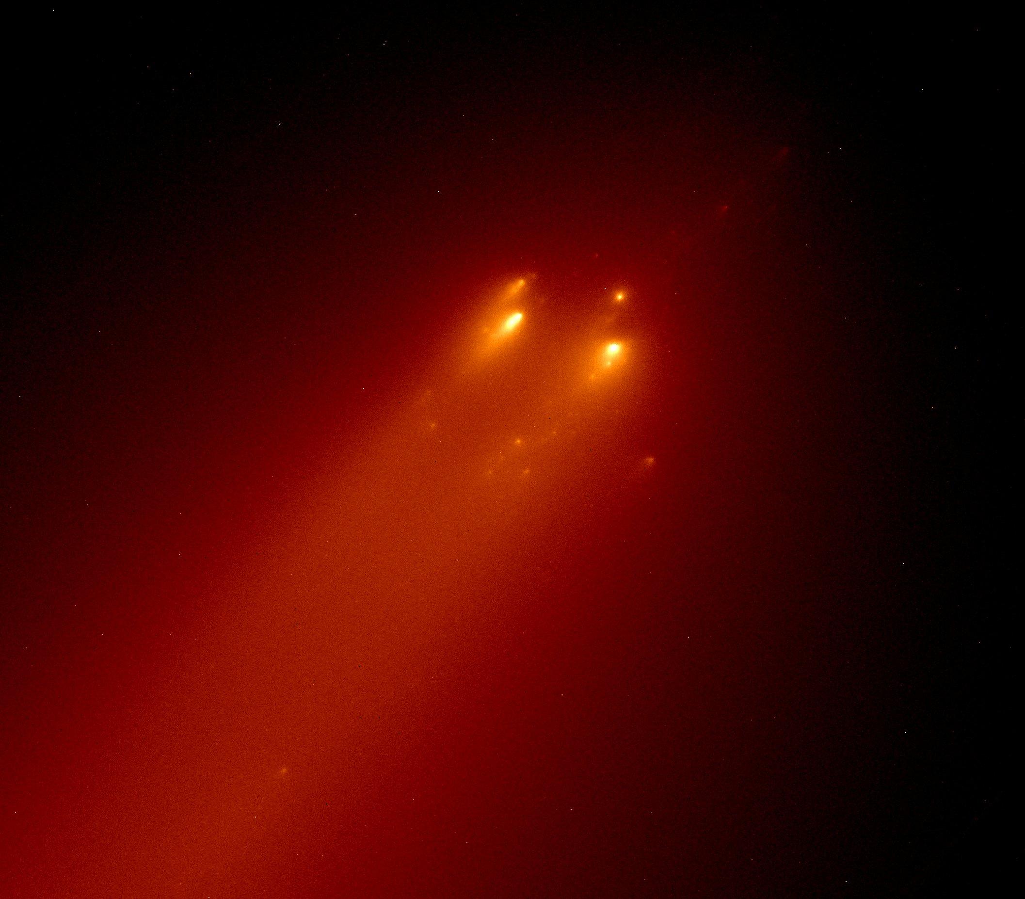 El cometa C/2019 Y4 (ATLAS) se desintegra | Instituto de ...