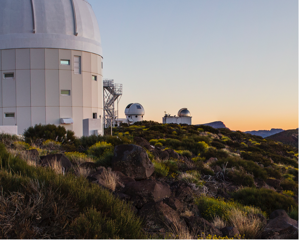 Teide observatory first image