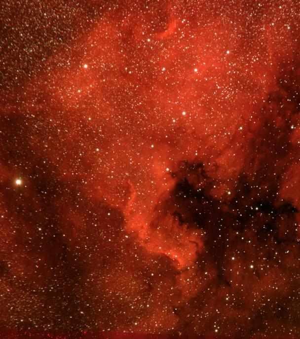 North America Nebula and Pelican Nebula