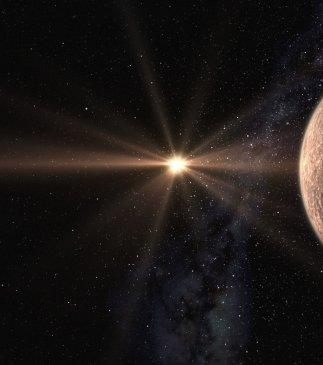 Discovery of a super-Earth near to the habitable zone of a cool star