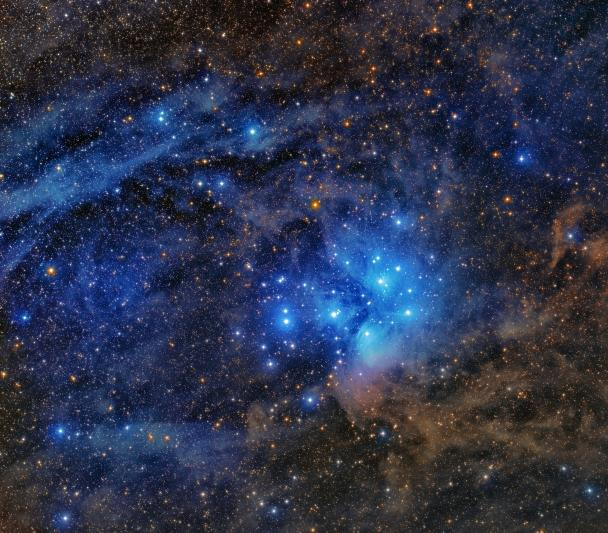 Pleiades Open Cluster (M45)