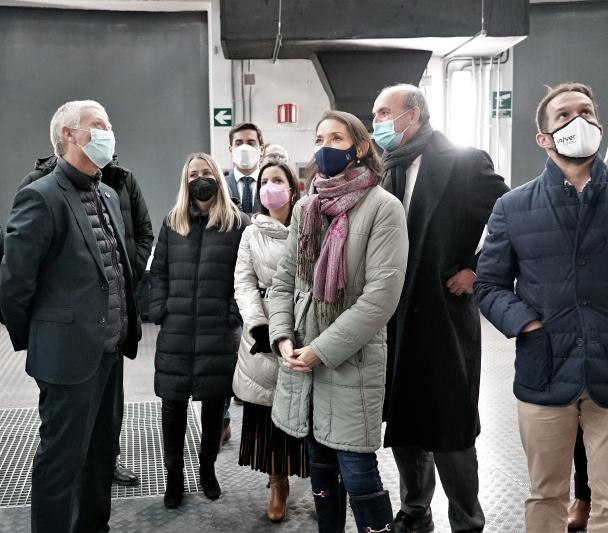 Visit of the Minister of Tourism Reyes Maroto to the ORM