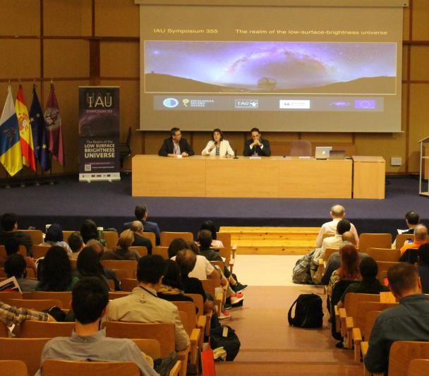Opening of the IAU Symposium 355