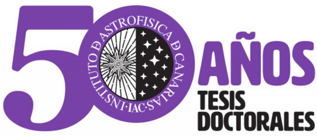 50 years of doctoral theses logo