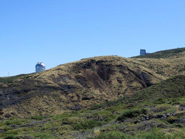 Site foreseen for the TMT on La Palma. Credit. Carlos Martínez Roger (IAC)
