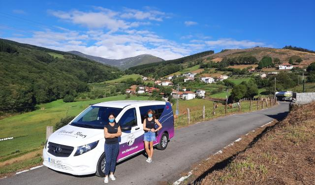 The proyect moved around a part of the zone of Allande, and visited the villages of Berducedo, Monón, Fonteta, and Pola de Allande. Credit: Raquel González Cuesta.
