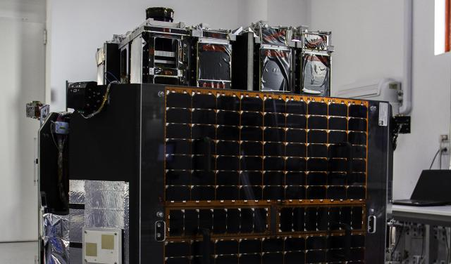 Image of the ION SCV LAURENTIUS satellite platform, where the DRAGO instrument will be integrated. Credit: D-Orbit.
