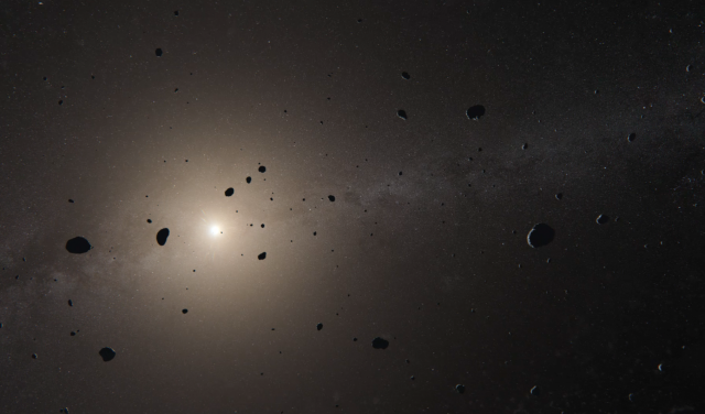 Frame of the video Traveling on a Comet. Credit: Virtualisrealitates