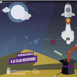 Poster of the Weeks of Science and Innovation in the Canary Islands