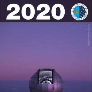 Astronomical Calendar 2020 with a GTC Image