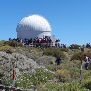 Visitors during the Open Days 2019 to the Teide Observatory. Credit: IAC.