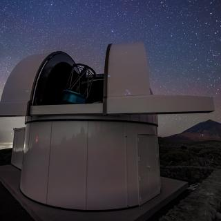 ARTEMIS telescope (SPECULOOS array) at the Teide Observatory.