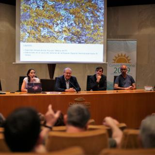 "Round table of the summer school ""Acercate al Cosmos"""