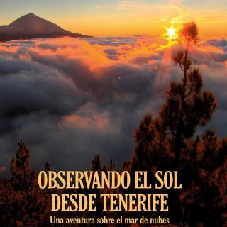 "The book cover of ""Observing the Sun from Tenerife"