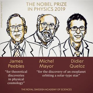 Physics Nobel Prize Winners 2019