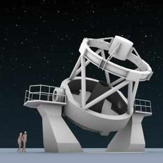 The New Robotic Telescope (3D render)