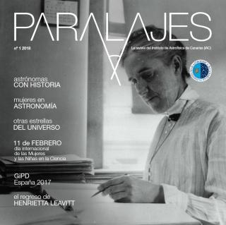 PARALAJES Cover Women in Astronomy